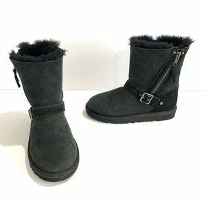 UGG Australia Blaise Big Kids Side Zip Boots